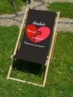 leżak dla zakochanych